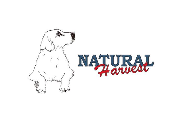 ナチュラルハーベストドッグフードのロゴ