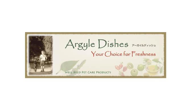 アーガイルディッシュドッグフードのロゴ