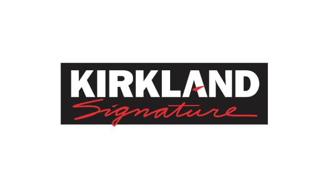 カークランドドッグフードのロゴ