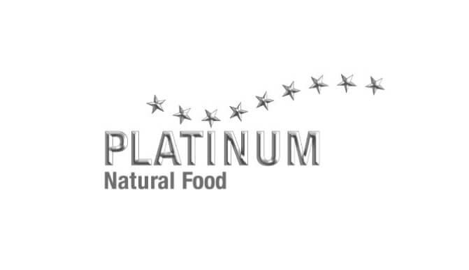プラチナムナチュラルドッグフードのロゴ