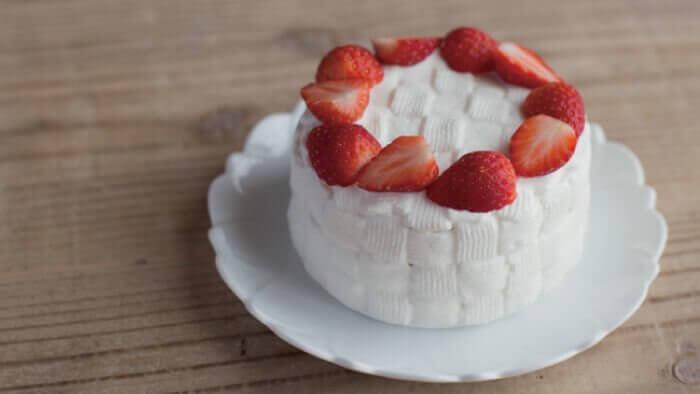 犬用の無添加手作りケーキ