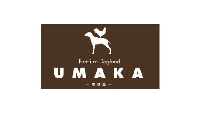 UMAKAうまかドッグフードのロゴ