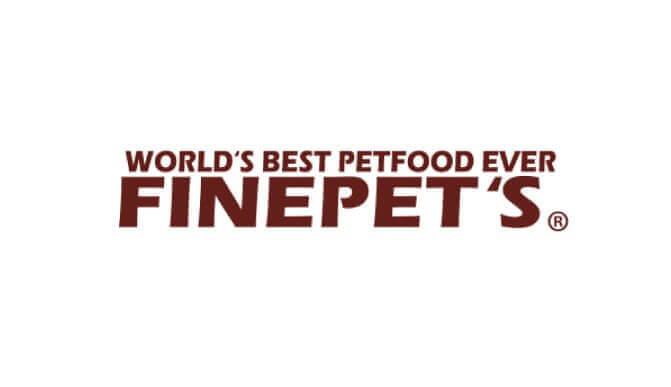 ファインペッツドッグフードのロゴ