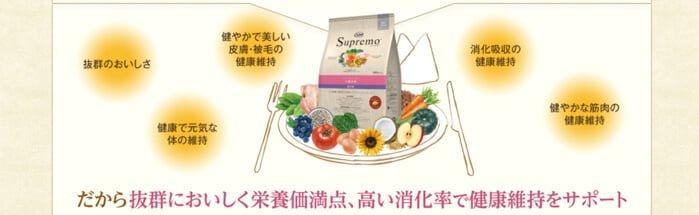 ニュートロシュプレモの栄養価と消化率